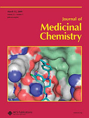 Journal of Medicinal Chemistry - Image: Jmc cover
