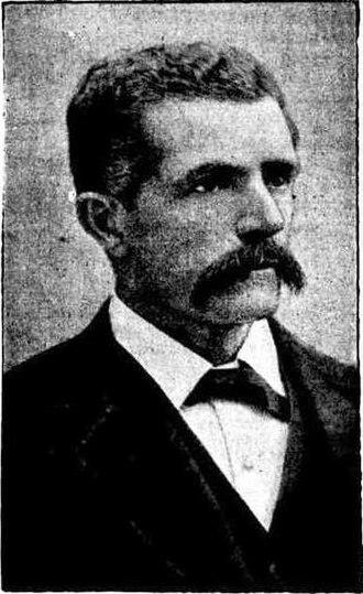Municipality of Redfern - John Beveridge (1848–1916), Alderman for Belmore Ward (1886–1891) and Mayor (1891).