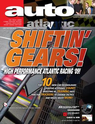 Auto Atlantic - Cover of the July 2009 edition of Auto Atlantic