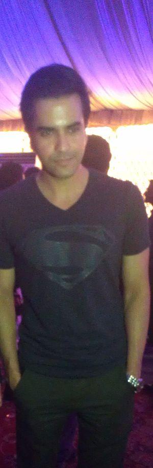 Junaid Khan (singer) - Khan in Ali Zafar's concert in 2014