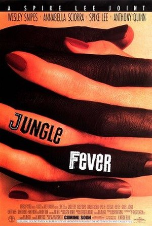 Jungle Fever - Theatrical release poster