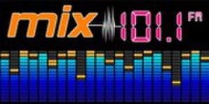 KWCA (FM) - Image: KWCA mix 101.1 logo