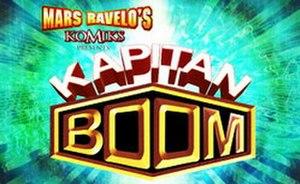 Komiks Presents: Kapitan Boom - Image: Kapitan Boom Logo