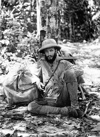 Kermit Roosevelt - Kermit Roosevelt grew a beard during the trip while he and his father fought loss of equipment, disease, drowning and murder during their 1913 expedition down the River of Doubt in the Amazon Basin.
