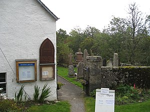 Kirkmichael, Perth and Kinross - Session House and Kirkyard