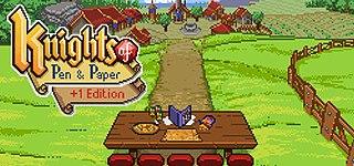 <i>Knights of Pen & Paper</i> RPG for mobile