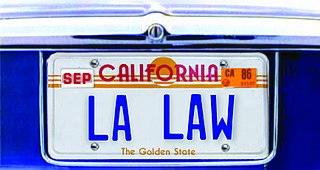 <i>L.A. Law</i> American television series