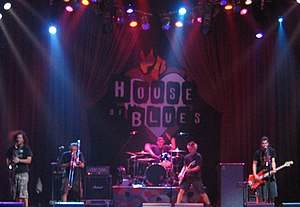 Less Than Jake - Less Than Jake performs at The House of Blues in Las Vegas, September 2004.