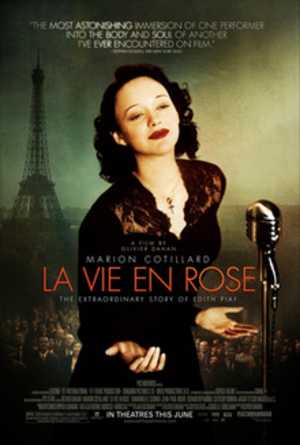La Vie en rose (film) - Theatrical release poster