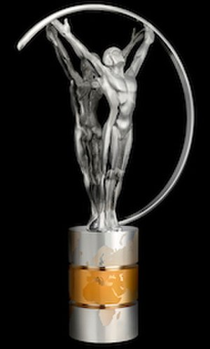 Laureus World Sports Awards - Image: Laureus World Sports Awards statuette