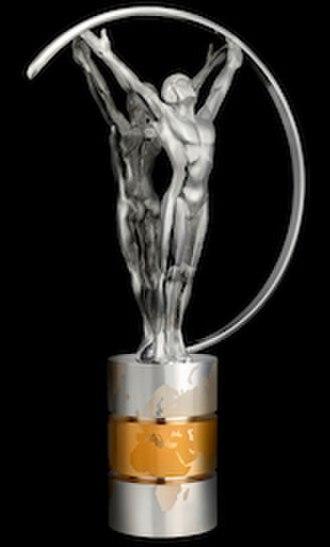 Laureus World Sports Awards - Image: Laureus World Sports Awards statuette