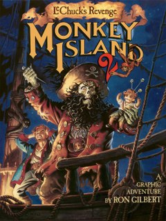 <i>Monkey Island 2: LeChucks Revenge</i> adventure video game