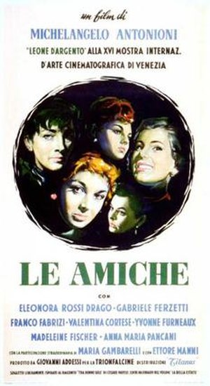 Le Amiche - Theatrical release poster