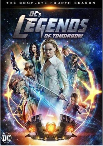 Legends of Tomorrow (season 4) - Promotional poster