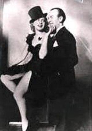Pesach Burstein - Burstein and his wife Lillian Lux