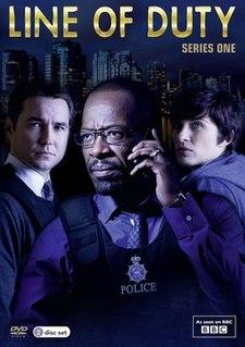 <i>Line of Duty</i> (series 1) BBC police procedural TV show, 2012 series