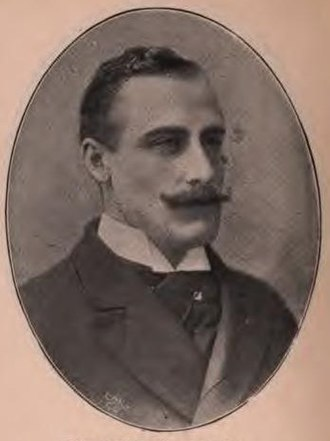 Gilbert Heathcote-Drummond-Willoughby, 2nd Earl of Ancaster - Lord Willoughby de Eresby in 1895.