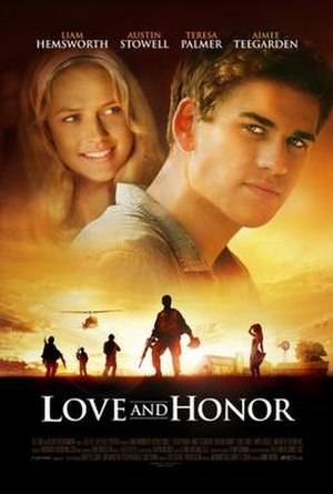 Love and Honor (2013 film) - Theaterical release poster