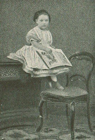 Mary Angela Dickens - Photographed in 1866