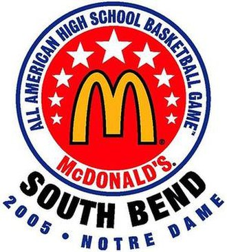 2005 McDonald's All-American Boys Game - Image: Mc Donald's 05