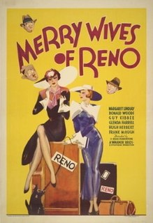<i>Merry Wives of Reno</i> 1934 film directed by H. Bruce Humberstone