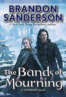<i>Mistborn: The Bands of Mourning</i> book by Brandon Sanderson