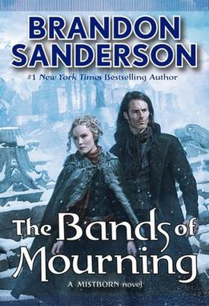 Mistborn: The Bands of Mourning - First edition cover