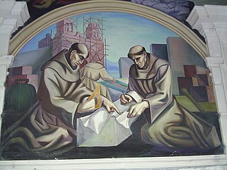 Government Palace of Chihuahua - Image: Mural Cathedral
