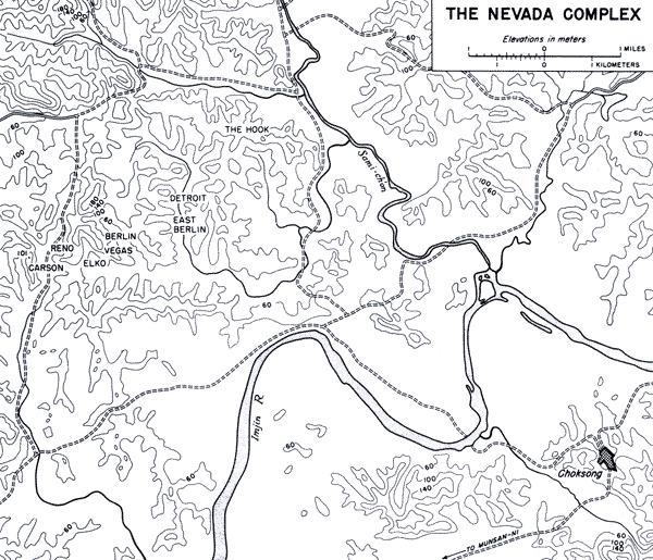 Nevada complex, Korea 1953