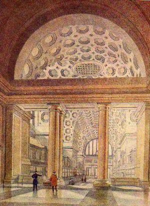 William Haywood (architect) - Haywood's design for the Booking Hall at New Street Station.