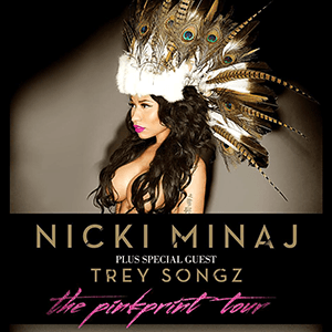 The Pinkprint Tour - Image: Nicki Minaj The Pinkprint Tour (Official Poster)