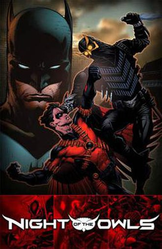 Batman: Night of the Owls - Batman: Night of the Owls Booklet Cover art by David Finch, Richard Friend and Jerome Cox