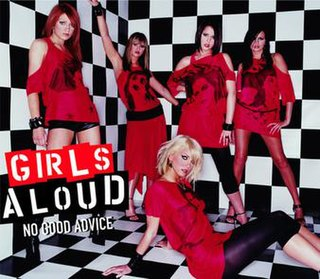 No Good Advice 2003 single by Girls Aloud