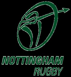 Nottingham R.F.C. - Image: Nottingham rugby logo