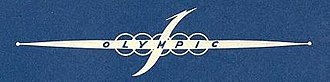 Olympic Airlines - The first logo of Olympic, in 1957.