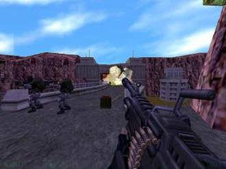 Half-Life: Opposing Force - Opposing Force introduces new weapons and allows the player to command small squads of soldiers