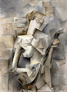 Cubism Early-20th-century avant-garde art movement