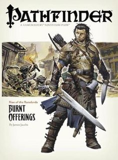 <i>Pathfinder</i> (periodicals) several related series of roleplaying game books
