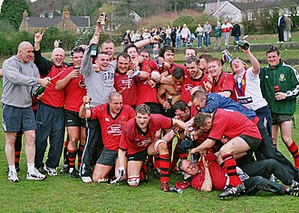 Penclawdd - Division 3 West Winners 2005.