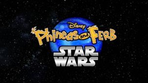 Phineas and Ferb: Star Wars - The logo used for the special