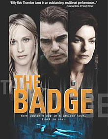 Poster of the movie The Badge.jpg
