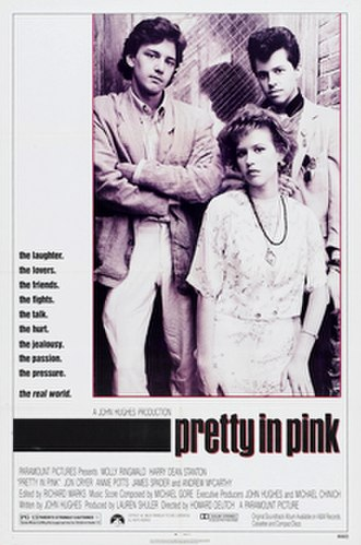 Pretty in Pink - North American film poster