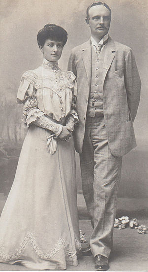 Prince Johann Georg of Saxony - Prince Johann Georg with his second wife Princess Maria Immaculata in Cannes.