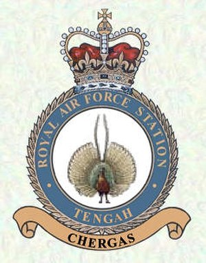 Tengah Air Base - RAF Tengah Station Badge
