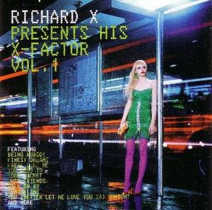 Richard X Presents His X-Factor Vol. 1 - Image: RICHARD X