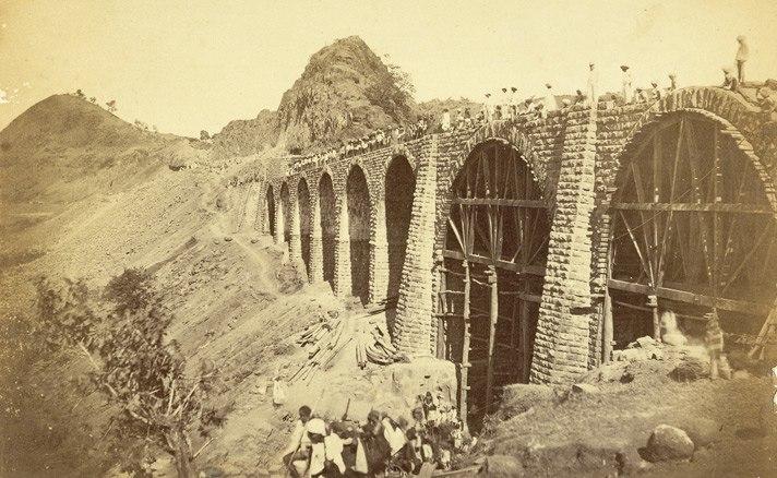 Railway bridge bhor ghaut incline1855