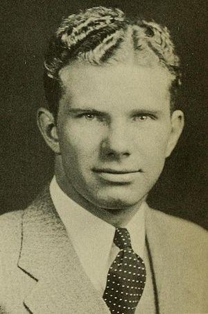 Ray Poppelman - Poppelman at the University of Maryland in 1933