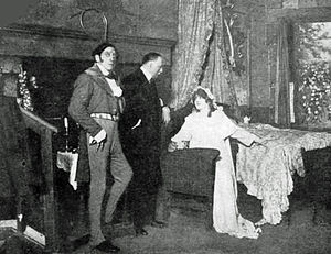 René Fauchois - Fauchois, left, as Gioachino Rossini and Sarah Bernhardt (right) as his mother, 1920