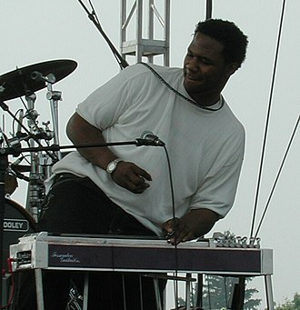 Robert Randolph and the Family Band - Robert Randolph performing with the Family Band at the Gathering of the Vibes in 2001
