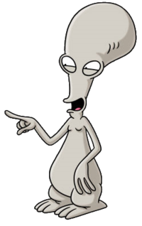 Image result for roger american dad